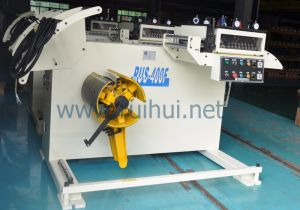 Uncoiler Machine Add Gear Lubrication System (RUS-400F) pictures & photos