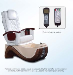 PU Pedicure & SPA Chair with Foot SPA, Full Body Massage (D401-16) pictures & photos