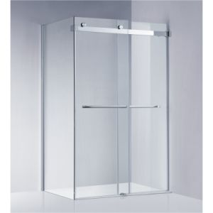 American Standard Frameless Sliding Shower Enclosure/Shower Screen (A-KW022)