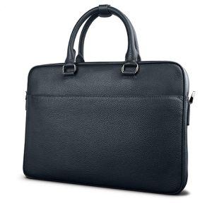 Laptop Leather Handbag Men Briefcase Bag