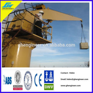 Hydraulic Fixed Boom Crane 2t 6m pictures & photos