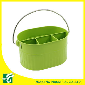 Yellow Color Metal Storage Basket pictures & photos