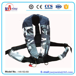 Ec & CCS Approval 150n Automatic Inflatable Life Jacket pictures & photos