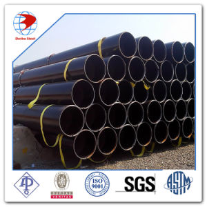 ASTM A53 A106 API 5L Grade B Black Carbon Steel Seamless Pipes pictures & photos