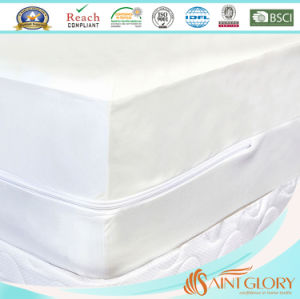 Polyester Cheap Anti Bed Bug Zippered Mattress Cover Encasement Protector pictures & photos