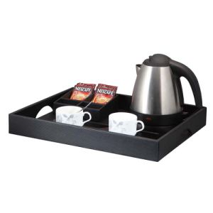 Stainless Steel Kettle Cordless Kettle with Service Tray pictures & photos