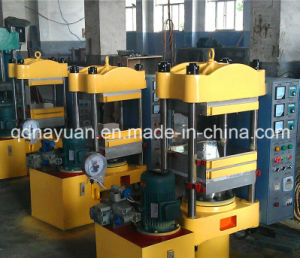 Pillar Type Rubber Products Making Plate Vulcanizer for Sale pictures & photos