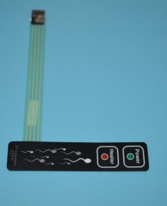 LED Membrane Switch Flexible Circuit with 3m Adhesive pictures & photos