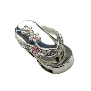 Diamond Metal Slippers 32GB USB Flash Drive Bulk Novelty Gift pictures & photos