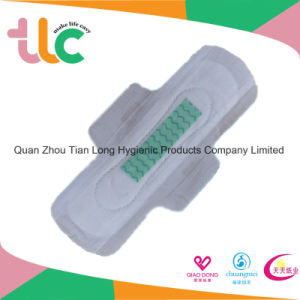 Feminine Negative Ions Comfort Sanitary Pad for Girl Made in China pictures & photos