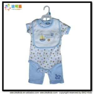 New Style Baby Garment Soft Cotton Baby Boy Gift Set pictures & photos