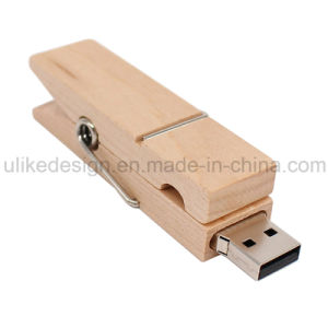 Stylish Wooden USB Flash Drive (UL-W008) pictures & photos