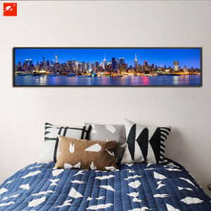Large Size Seaside Urban Decoration Canvas Oil Painting pictures & photos