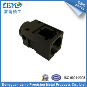 Black Anodized Aluminum Die Casting Machined Parts for Camera (LM-216M) pictures & photos