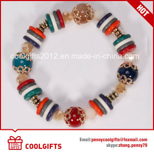 Ladies Gift Jewelry Beautiful 4PCS Set Colorful Stone Bracelet pictures & photos