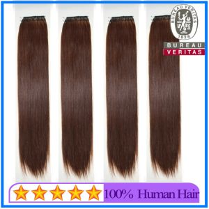 Wholesale Virgin Human Hair String Hair Extensions pictures & photos