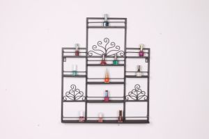 Hot Sale Metal Wrought Wall Nail Polish Holder pictures & photos