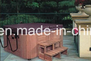2000mm Square Free Standing Outdoor SPA for 5 People with Steps (AT-8803) pictures & photos