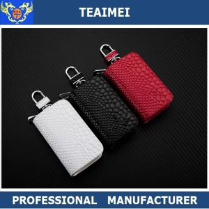 Promotion Leather Key Holder Auto Key Chain Case Cover