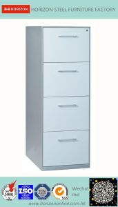 Steel Filing Cabinet Office Furniture with Full Width Recess Handle for F4 Foolscap Size Hanging File Storage/Metal Furniture for Japan Market pictures & photos