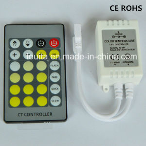 IR 24key LED Color Temperature Controller for Double Color Strip pictures & photos