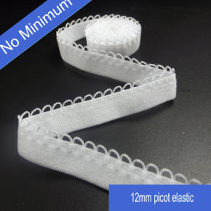 Stock Good Quality Picot Woven Facing Elastic for Underwear pictures & photos