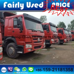 Used Chinese Sinotruck HOWO Dump Truck 6*4 for Sale pictures & photos