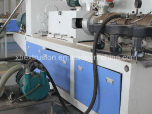 PVC Wood Plastic Foam Profile Extrusion Line/ WPC Production Machine pictures & photos