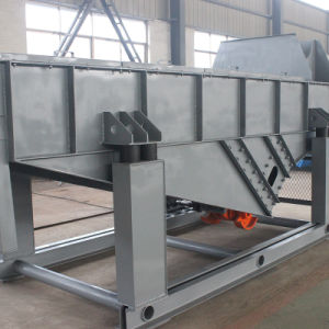 Carbon Steel Linear Vibrating Screener for Food/ for Flour/Salt/Sugar Machine Equipment pictures & photos