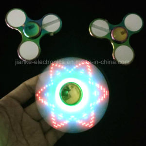 Zinc Alloy LED Metal Fidget Hand Spinner (6000E) pictures & photos