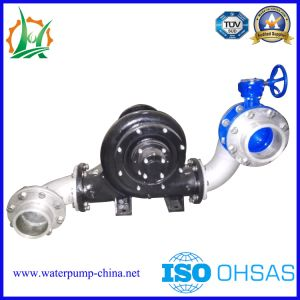 Six Inch Horizontal Easy-Maintenance Centrifugal Pump Trailer Pump Station pictures & photos