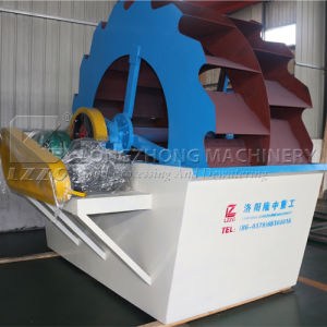 Wheel Silica Sand Washing Machine for Sale with Factory Price pictures & photos