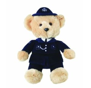 Policeman Bear Stuffed Plush Toy pictures & photos