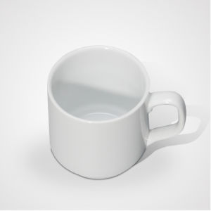 Hot Sale Porcelain Family Plain Mug with High Quality pictures & photos