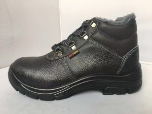 Winter Work Safety Shoes (Upper: artificial leather, Sole: PU) pictures & photos