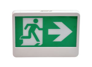 Ni-CD Battery Support Right Arrow Running Man Exit Sign pictures & photos