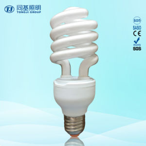 24W 40W Half Spiral 3000h/6000h/8000h 2700k-7500k E27/B22 220-240V Energy Saving Lamps Down Price pictures & photos