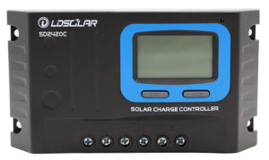 12V/24V Auto 20A Solar Charge Regulator/Controller with USB pictures & photos