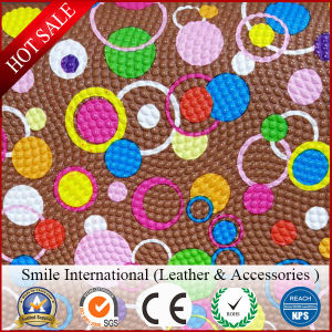PVC Artificial Transfer Film Artificial Leather Can Do for Shoes, Handbags and So on pictures & photos