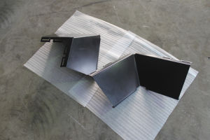 Sheet Metal Fabrication Steel Bending Corner Bracket pictures & photos