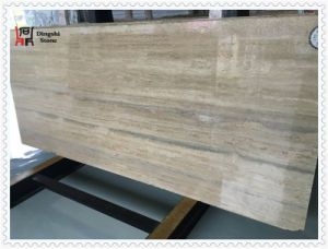 Natural Stone Sliver Travertine for Flooring Tiles pictures & photos