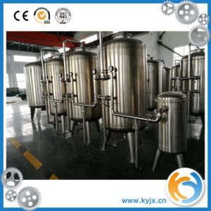 Mineral Water Hollow Filter Treatment System Purified Water Machine pictures & photos