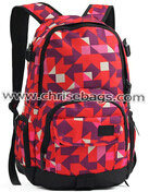Designed Pattern Canvas Backpack for Girls Funtional Big pictures & photos