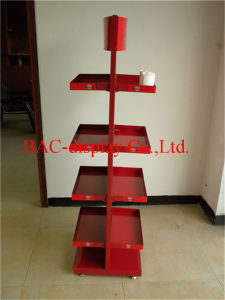Two-Sided Candy Snack Display Stand for Supermarket pictures & photos