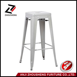 China Commercial Furniture Metal Stack Stool Zs-T-630 pictures & photos