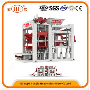 Concrete Cement Hollow Block Making Automatic Machine pictures & photos