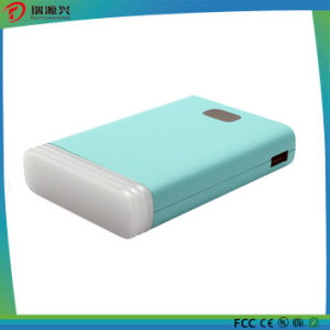 10000mAh Polymer Power Bank with LED Reading Lamp pictures & photos