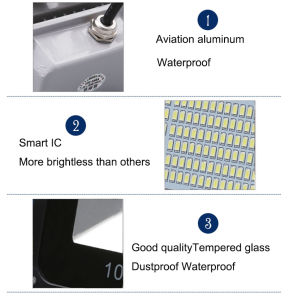 10W Waterproof LED Floodlights No Need Driver pictures & photos