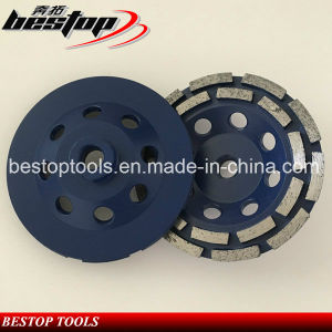 New Style and Design Double Row Cup Wheels for Grinding pictures & photos