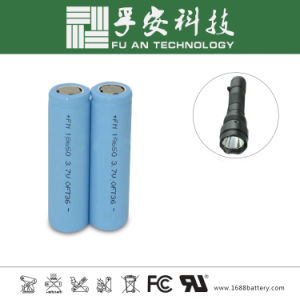18650 Lithium Battery for Electric Cigarette, Flashlight, Electric Torch pictures & photos
